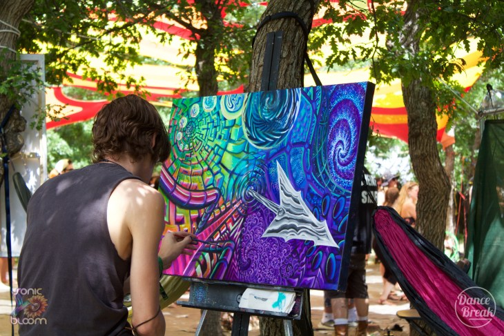 Live Painting at Sonic Bloom 2019