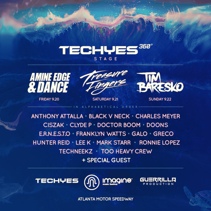 Imagine Music Festival 2019 TechYes Stage