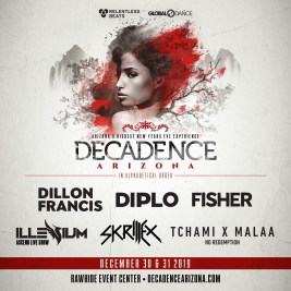 Decadence Arizona 2019 Phase 1