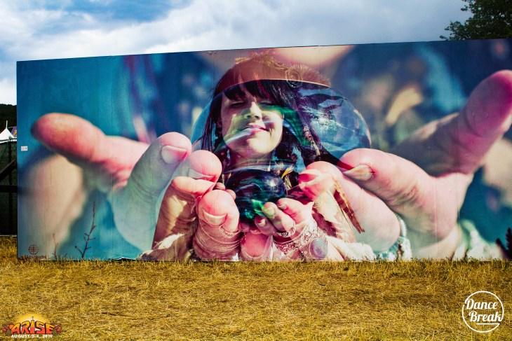 A mural at ARISE 2019