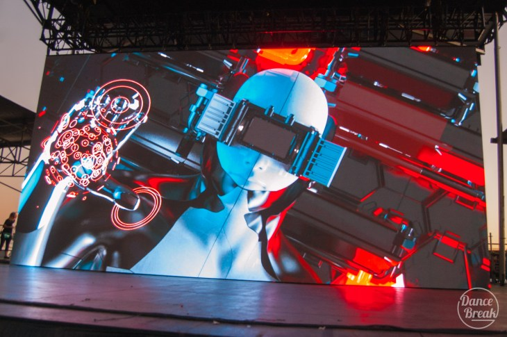 Visuals for Detox Unit at the Amazonia Stage