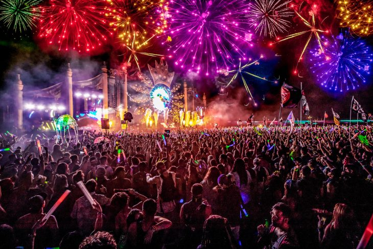 Imagine Music Festival at Night, Photo by DV Photo Video