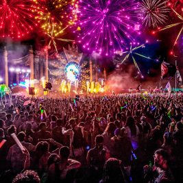 Imagine Music Festival at Night, Photo by DV Photo Video