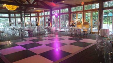 Black-white-dance-floor-rental-on-patio