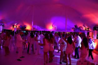outdoor portable white dance floor