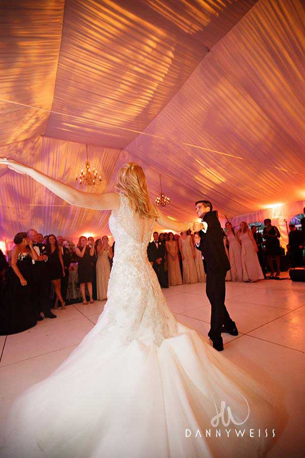 Wedding-production-white dance floor
