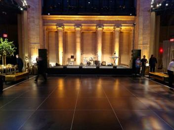 Black Dance Floor at Cipriani on Broadway in NYC