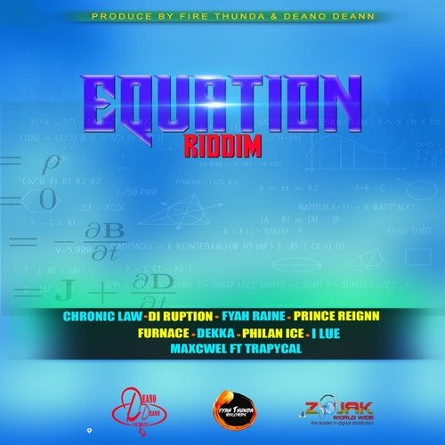 EQUATION RIDDIM [FULL PROMO] - DEANO DEANN RECORDS & FIRE