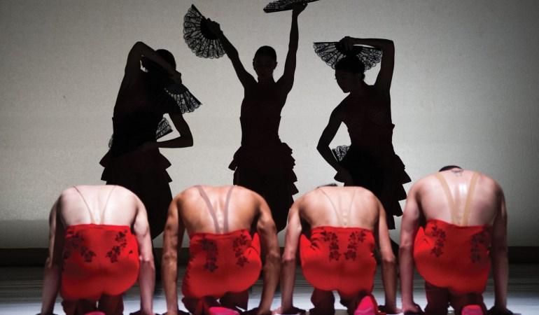 Ballet Hispánico in Annabelle Lopez Ochoa's Línea Recta Photo: Paula Lobo