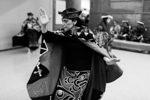 Yisya'winuxw Dancers from the Kwakwaka'wakw First Nation Photo: Amanda Laliberte