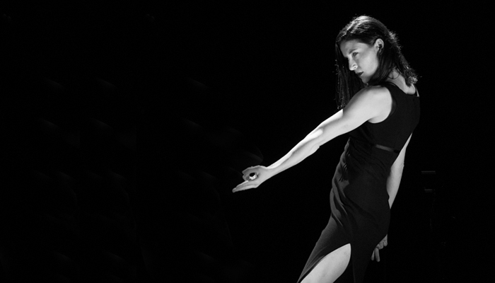 Alexandra Campbell of Cullberg Ballet in Édouard Lock's 11th Floor Photo: Édouard Lock
