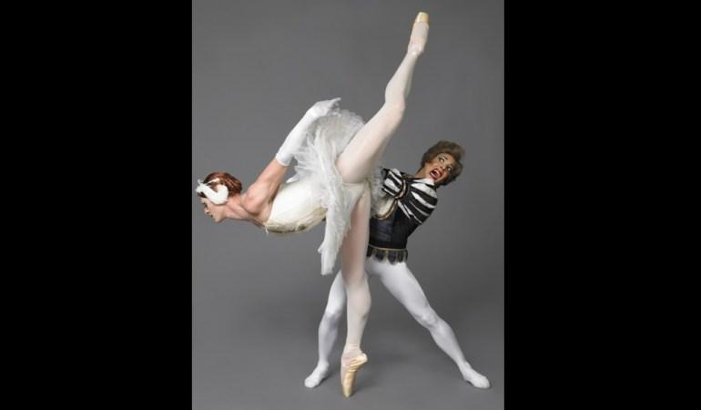 Les Ballets Trockadero de Monte Carlo in  Swan Lake   Photo: Sascha Vaughn