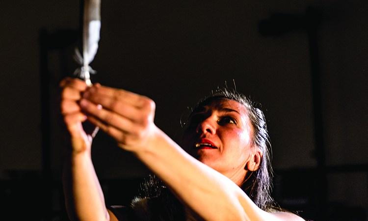 Jeanette Kotowich in her solo Eloise Photo: Daniel Paquet