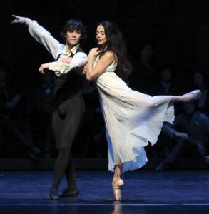 Alessandra Ferri and Alexandr Trusch in Hamburg Ballet's production of John Neumeier's Duse |  Photo: Holger Badekow