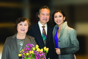 Lin Yee Goh, Choo Chiat Goh and Chan Hon Goh | Photo: Paul Lee