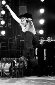 Bulat Radniev of Buryatian National Ballet rehearsing Dzambuling Photo: Natasha Ulanova
