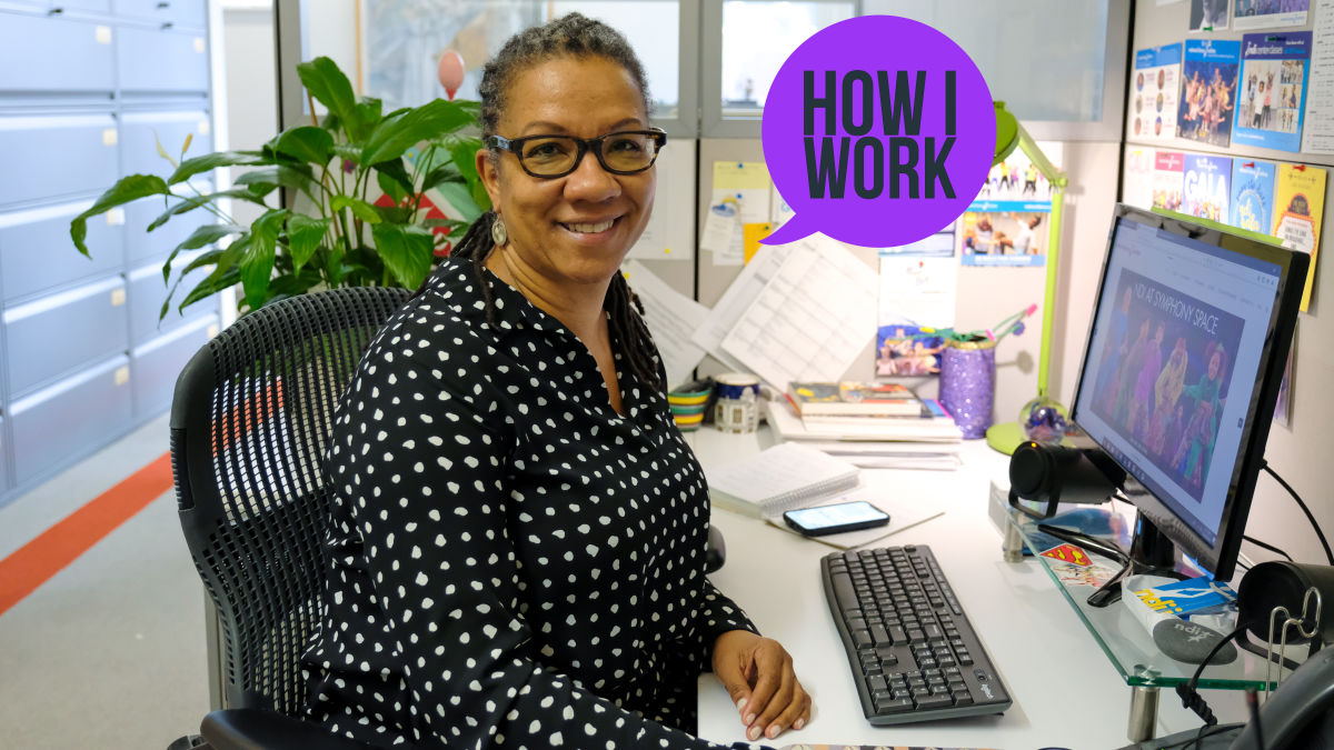 I'm Traci Lester, Executive Director of the National Dance Institute, and This Is How I Work