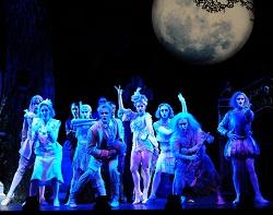 The Addams Family musical, Australia. Dancer Emma Clark