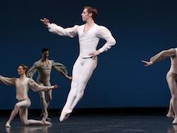 male ballet dancer jumping