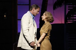 South Pacific. Lisa McCune and Teddy Tahu Rhodes