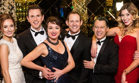 Cast of 'Anything Goes'