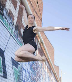 Brendan Bradshaw of Melbourne City Ballet