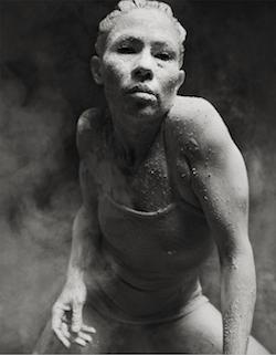 Tara Gower in 'Ochres' by Bangarra Dance Theatre