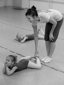 Turnout for ballet