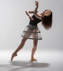 Georgia Powley for New Zealand School of Dance. Photo courtesy of NZSD.
