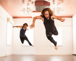 Chris Dyke and Kyle Page of Dancenorth. Photo by Amber Haines.
