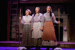 The Australian Production of 'Fiddler on the Roof'. Photo by Jeff Busby.