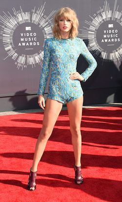 Taylor Swift at the 2014 MTV Video Music Awards. Photo by Jason Merritt, Getty Images.