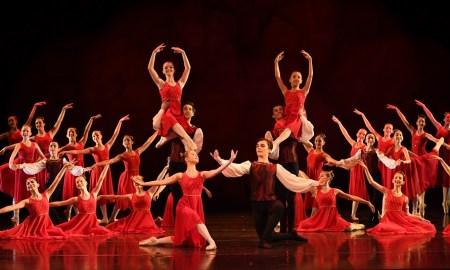 Dance students of The McDonald College, Sydney Australia