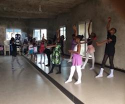 Ballet in Nigeria. Photo courtesy of Josephine Woodberry.