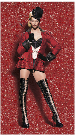 Mitchell Woodcock in 'Kinky Boots'. Photo courtesy of Woodcock.