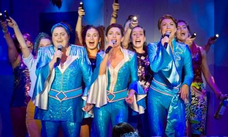 The Australian cast of 'MAMMA MIA!'. Photo by James D. Morgan.