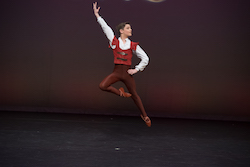 AGP 2017 Pre-Competitive 3, Bronze Medal, Remy D'Ornay, Melbourne School of Classical Dance, Australia.