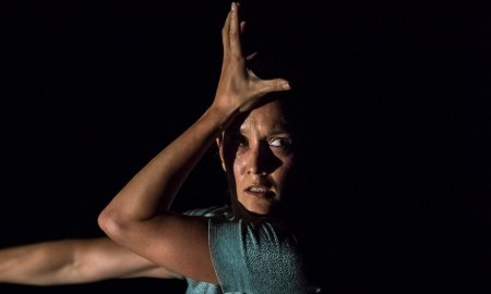Lucy Guerin Inc. in 'Split'. Photo by Gregory Lorenzutti.