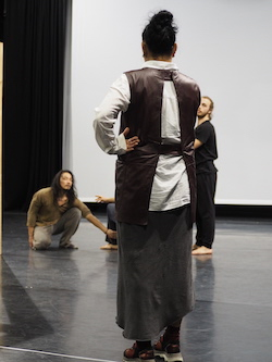 Ina Christel Johannessen with Australian Dance Theatre. Photo by Elizabeth Ashley.