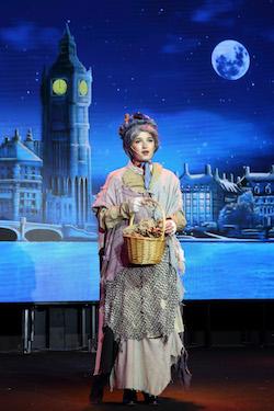 Maranatha Christian in 'Mary Poppins'. Photo courtesy of Grosh Digital Backdrops.