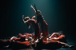 Footnote New Zealand Dance's 'Hemispheres'.
