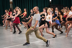 'West Side Story' on Sydney Dance Harbour dance audition. Photo by Rhiannon Hopley.