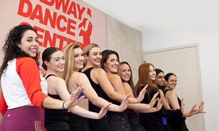 Students at Broadway Dance Centre. Photo by Belinda Strodder