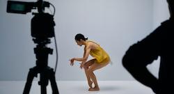 Sydney Dance Company filming 'Cuatro'.
