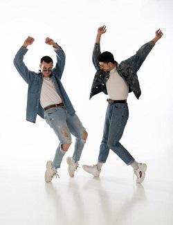 Scott and Tim by Scimm Dance Company