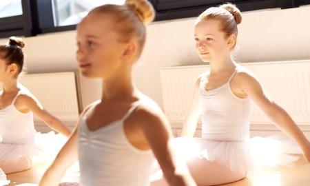 Victorian ballet school.