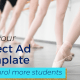 Studio Expansion's 'Perfect Ad Template'.