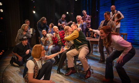 'Come From Away'. Photo by Jeff Busby.