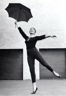 Tanya Pearson in the early 1960s.