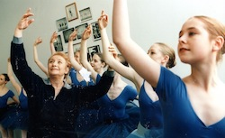Tanya Pearson teaching in the 1990s.